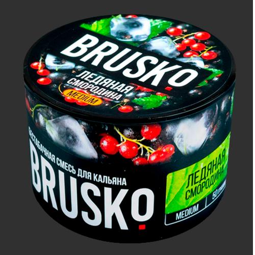 Бестабачная-смесь-Brusko-Ледяная-смородина
