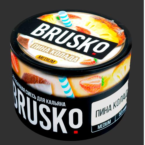 Бестабачная-смесь-Brusko-Пина-Колада