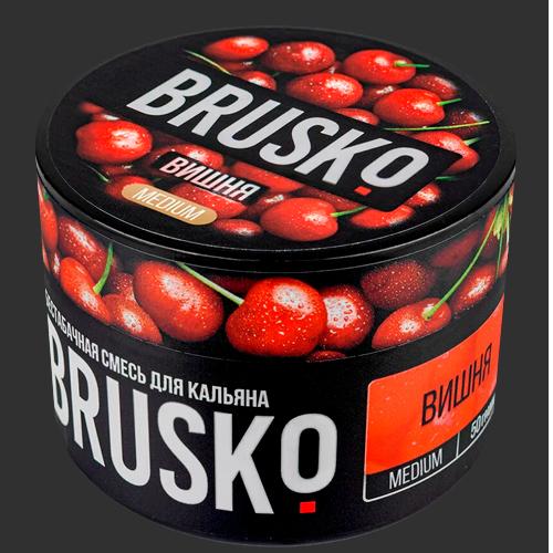 Бестабачная-смесь-Brusko-Вишня
