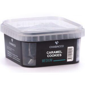 Chabacco Medium Caramel Cookies Печенье Карамель 200 гр.