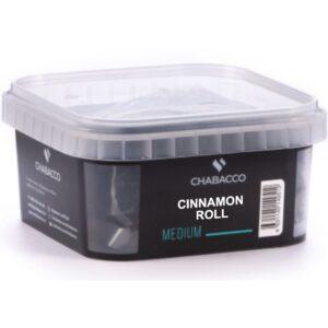 Chabacco Medium Cinnamon Roll Булочка с Корицей 200 гр.