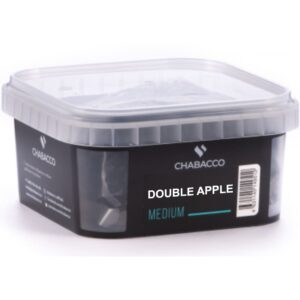 Chabacco Medium Double Apple Двойное Яблоко 200 гр.