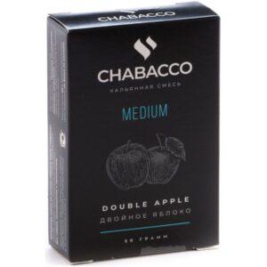 Chabacco Medium Double Apple Двойное Яблоко 50 гр.