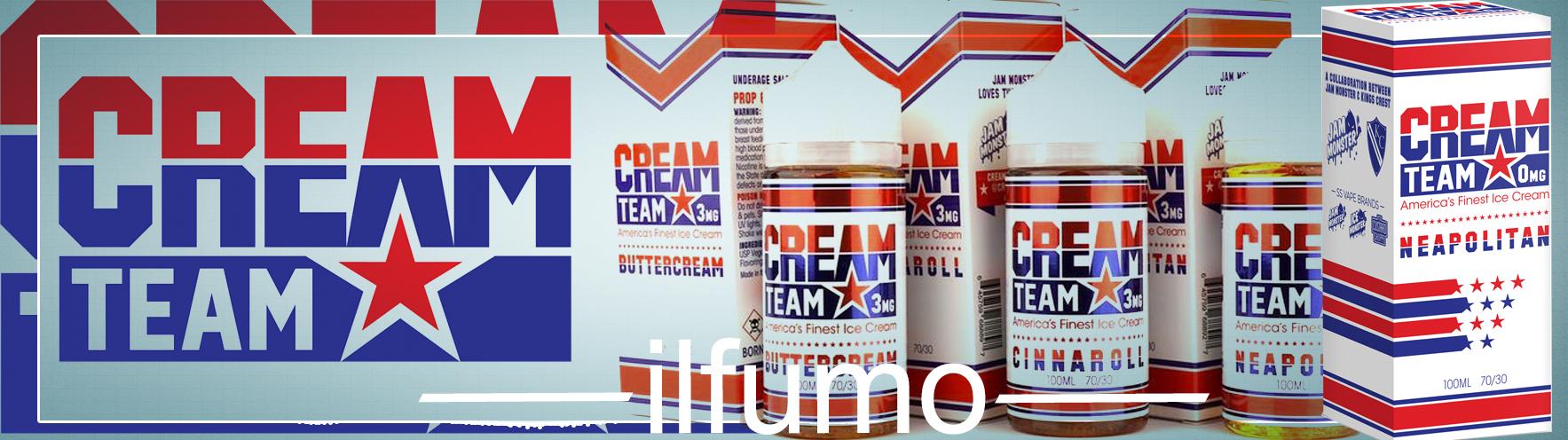 cream team vape optom ilfumo - Жидкость Cream Team