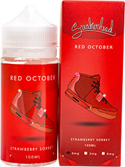 Жидкость Glas Sneakerhead Red October