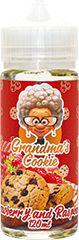 Жидкость Grandmas Cookie Strawberry and Raspberry