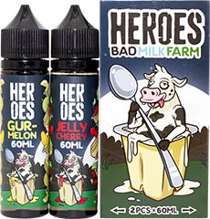 Жидкость Heroes Bad Milk Farm