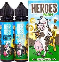 Жидкость Heroes Milk Farm