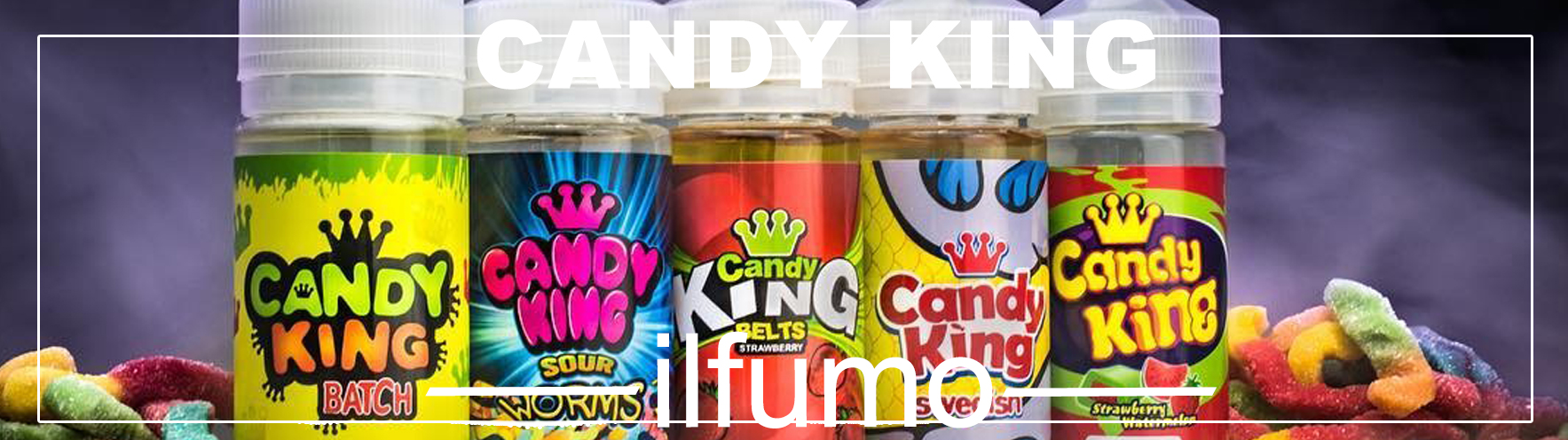 ilfumo candy king optom - Жидкость Candy King