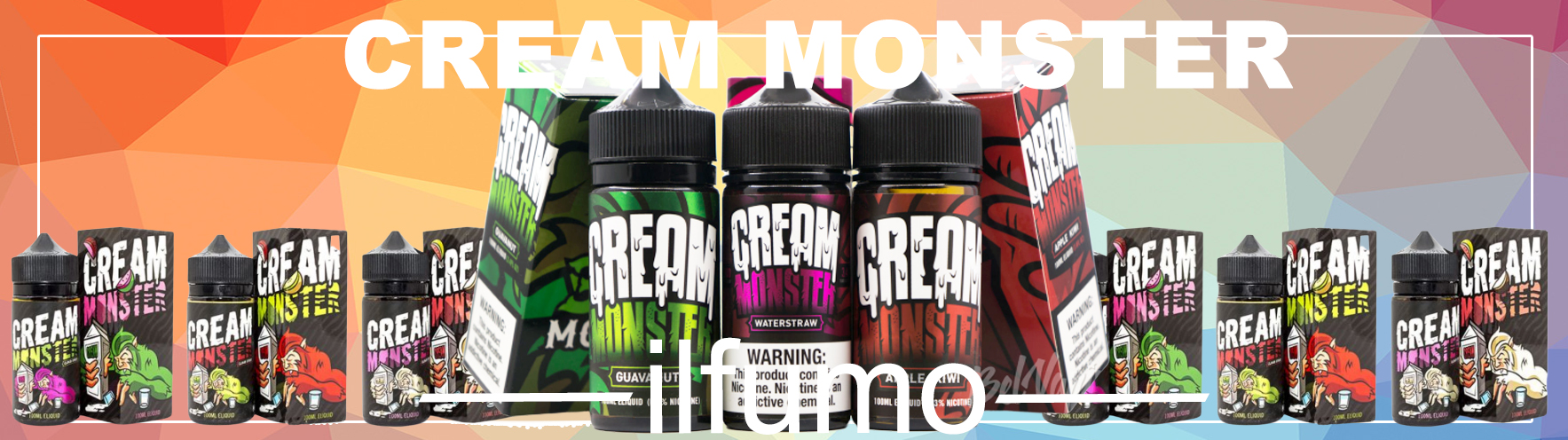 ilfumo cream monster 1 - Жидкость Cream Monster