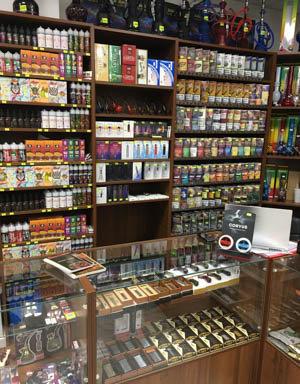 Я открываю табачный магазин, в котором будет весь ассортимент