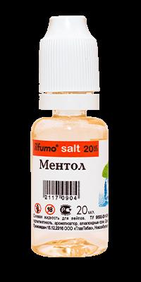 menthol - Жидкость ilfumo salt