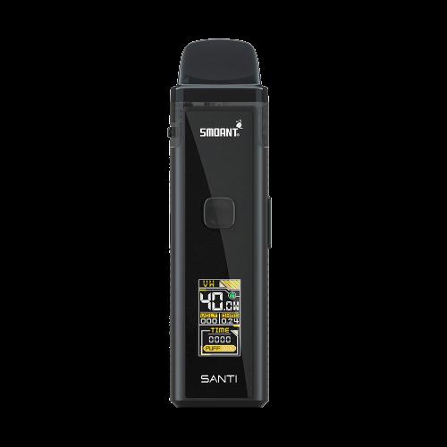 Smoant Santi Mod Pod Kit 40W Full black 1100 mAh 3.5 мл