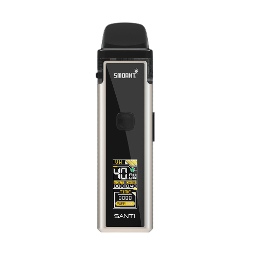 Smoant Santi Mod Pod Kit 40W Steel 1100 mAh 3.5 мл