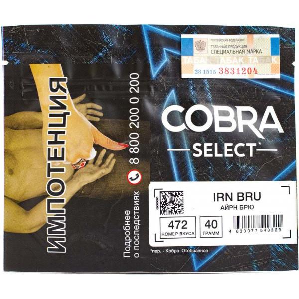 Табак Cobra Select 40 гр Айрн Брю