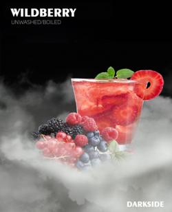 Табак для кальяна DARK SIDE вкус Wildberry корзинка диких ягод