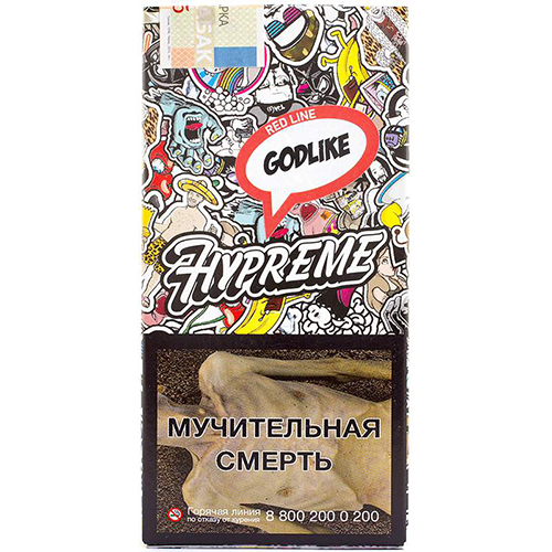 Табак Hypreme 40гр Godlike Пряный чай