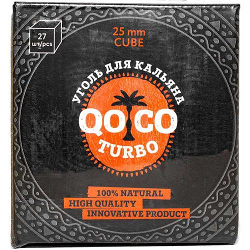 Уголь Qoco Turbo 27 куб.