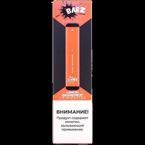 Вейп Barz Disposable Lemon Grapefruit 20 мг 280 mAh Одноразовый