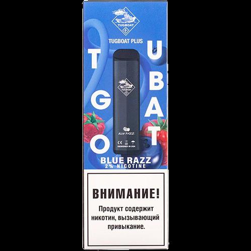 Вейп Tugboat Disposable Blue Razz 20 мг 400 mAh Одноразовый