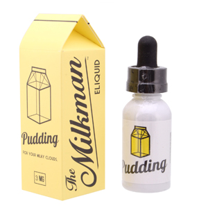 Жидкость The Milkman Pudding Ванильный пуддинг со взбитыми сливками и лимоном