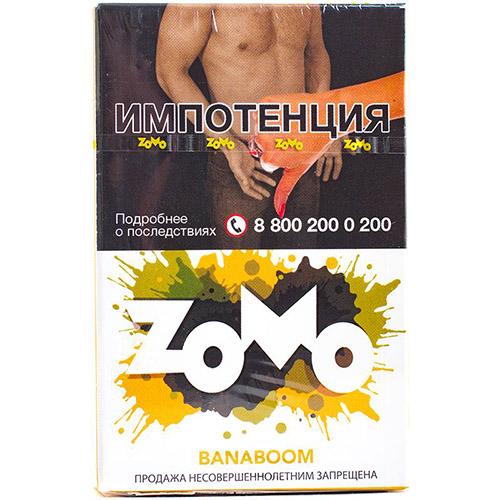 ZOMO Banaboom и табак для кальяна zomo оптом